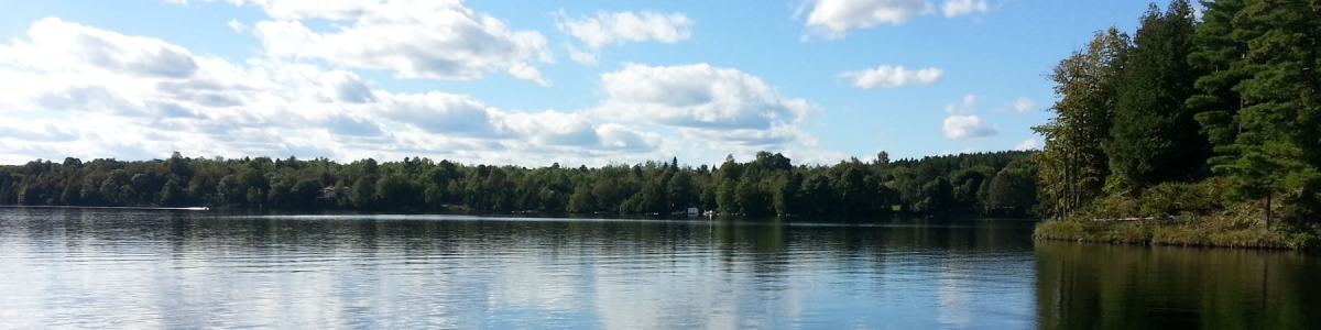 Lake near Perth Ontario